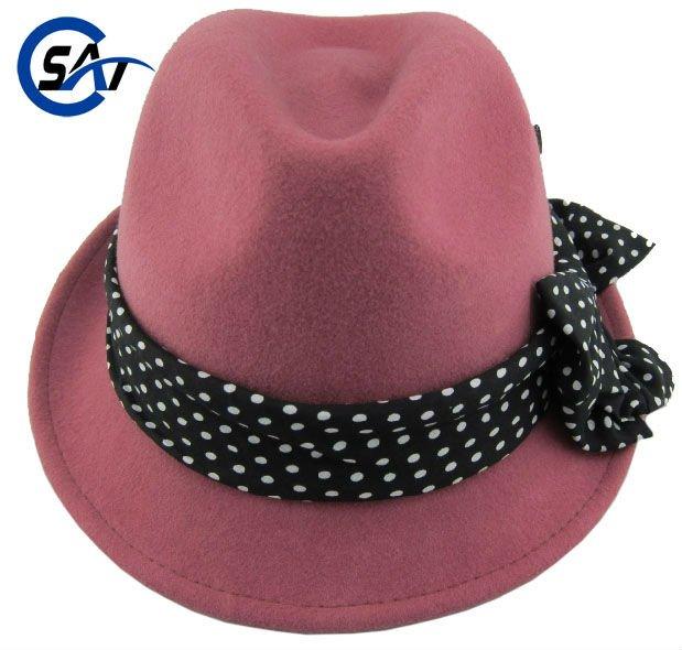 handmade 100 australian wool felt fedora hat wholesale