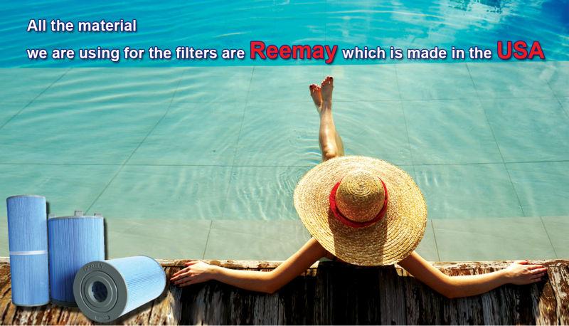 Reemay Material Cartridge Filter Swimming Pool Cartridge Pool Filter Buy Reemay Material