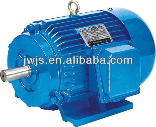 Y series three phase high torque low rpm electric motor for Low rpm electric motor