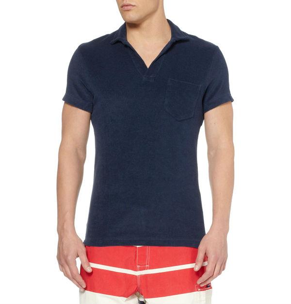 Cotton terry terry cloth fabric polo shirt wholesale view for Terry cloth polo shirt
