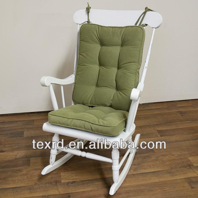Microfiber Suede Reversible Rocking Chair Cushion - Buy Rocking Chair ...