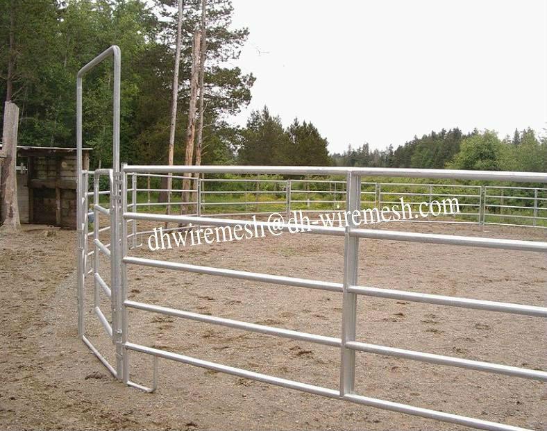 Farm Metal Gates Fence Portable Corral Panel Factory