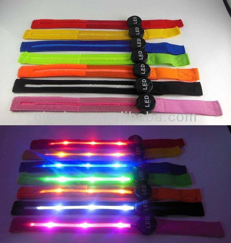 led light up arm strap led armband for running sport led armband view led li. Black Bedroom Furniture Sets. Home Design Ideas