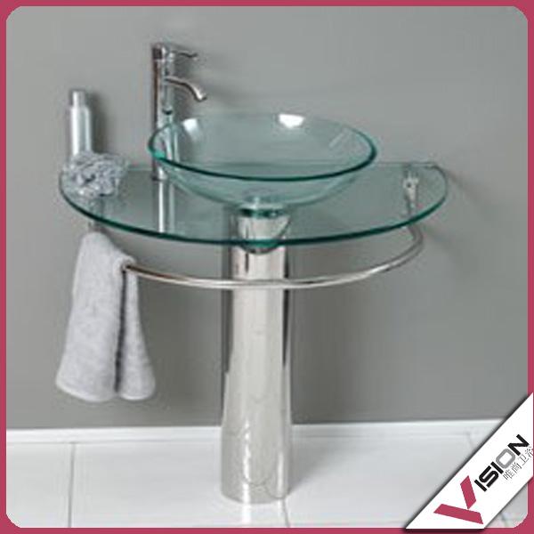 Glass basin glass wash basin price glass wash basin buy for Wash basin mirror price