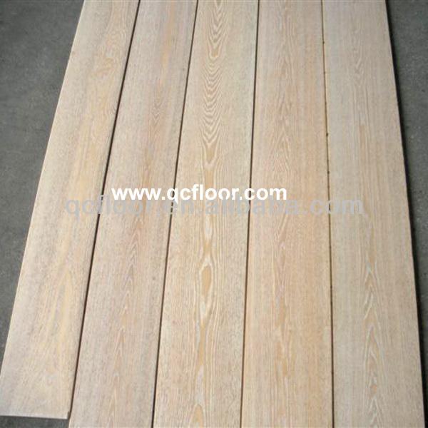 Uv Finished Ash Used Solid Hardwood Flooring For Sale
