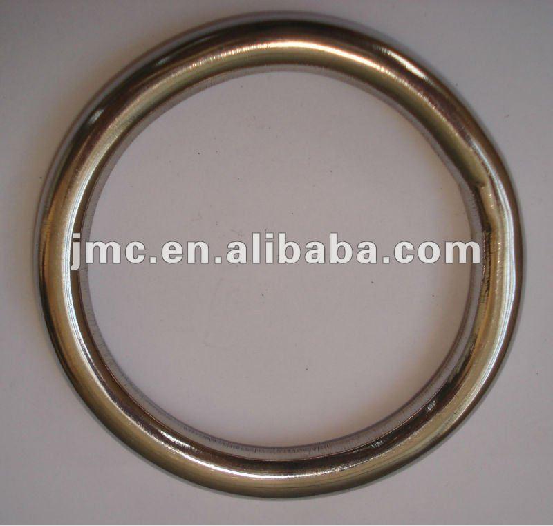Stainless steel welded round rings hardware buy