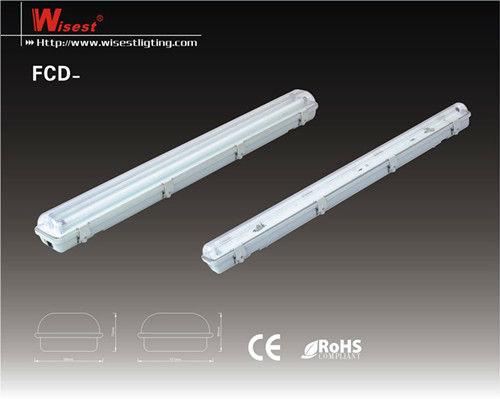 Waterproof T8 T5 Ip65 Fluorescent Office Ceiling Light Fixture 2x36w Buy Fl