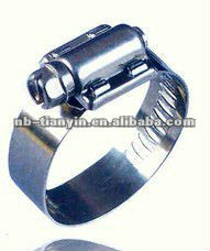 12.7mm bandwidth american type high torque pipe clamp