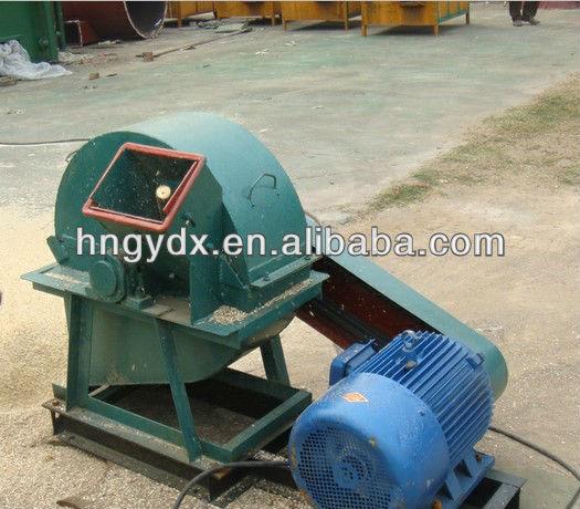 Wood chipper for biomass briquette making production line