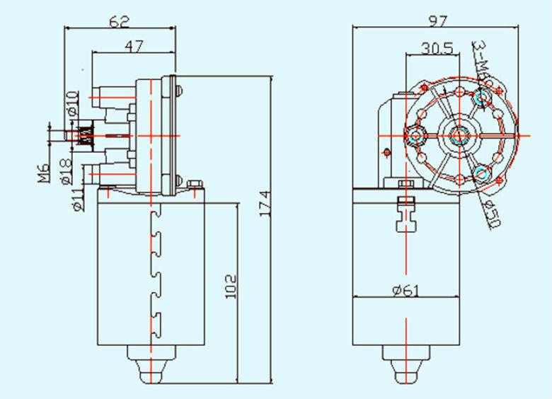 Multi Functional 12v Dc Wiper Motor Specifications Buy