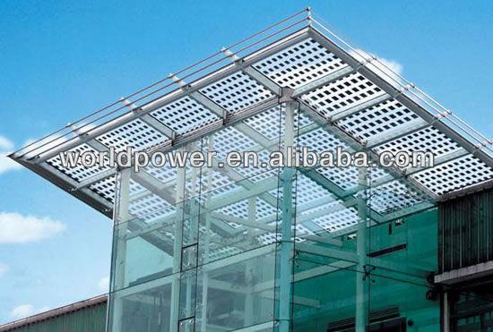 Bipv Transparent Solar Panel Building Integrated