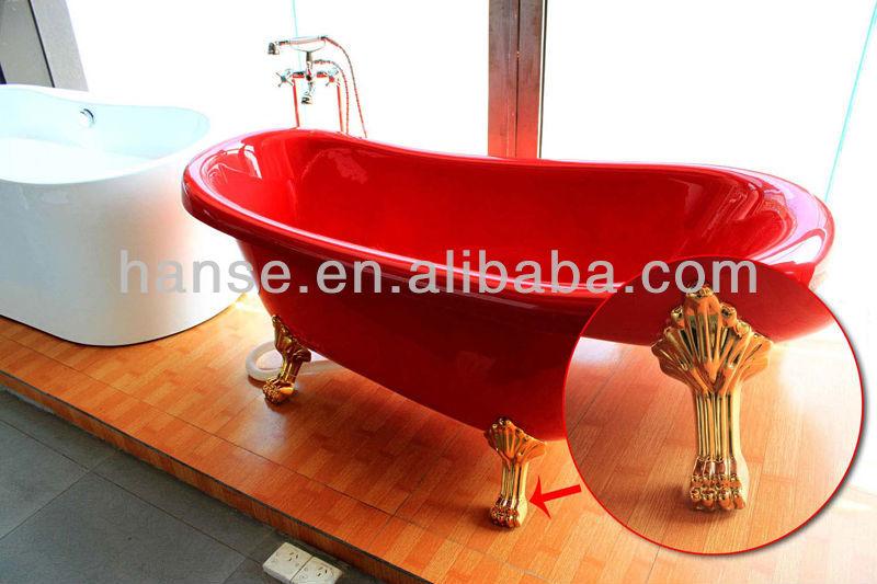 Hs X017a Best Red Tub Clawfoot Tub Low Clawfoot Tub Cheap Buy Best Red Tu