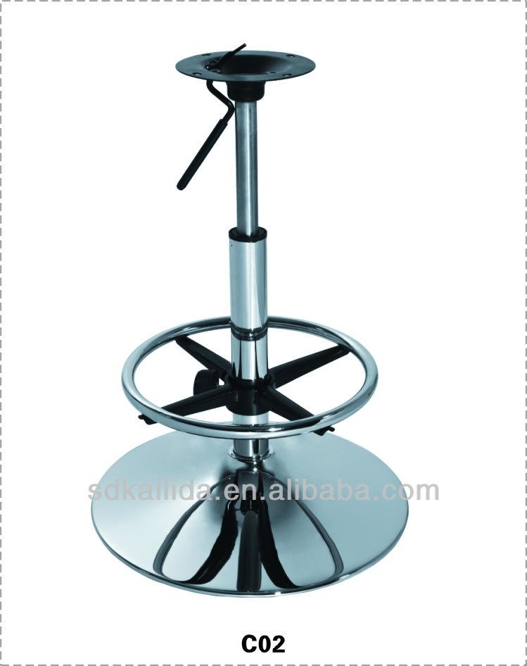 shunde supplier cheap used metal bar stool base