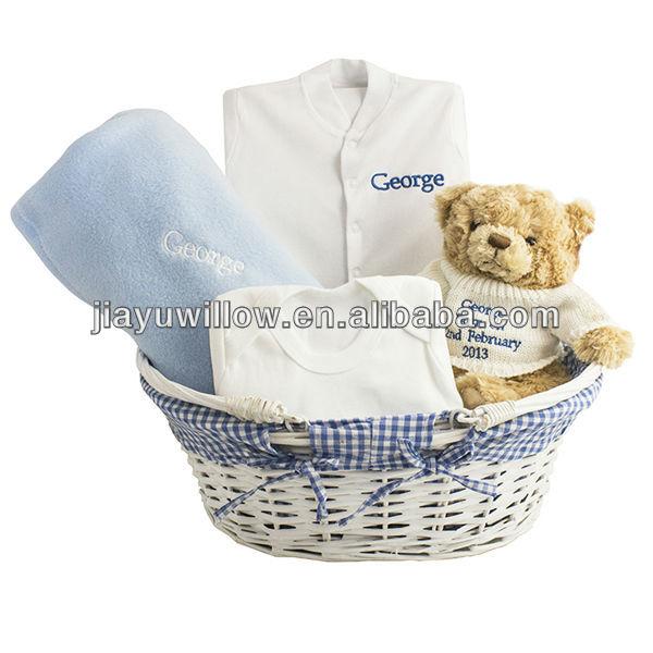 Baby Gift Baskets Empty : Handmade willow gift basket empty view baby jiayu