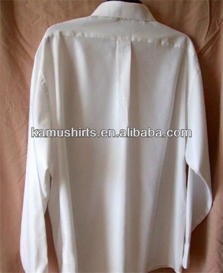 Wrinkle Free Man Dress Shirts White Non Iron Shirts Men