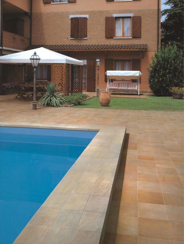 Outdoor And Bathroom R10 Anti Slip Resistant Floor Tile