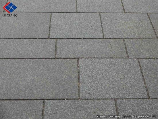 G684 Black Flamed Basalt Paver Buy Paver Black Basalt