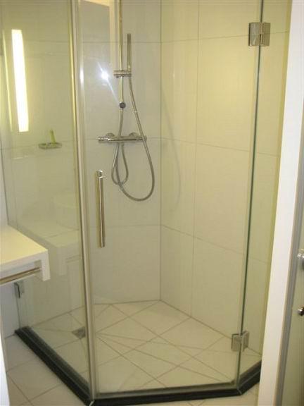 Sans cadre tremp cran de douche en verre porte buy for Porte de douche sans cadre