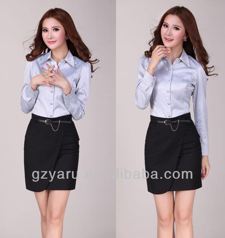 Ladies girls suit office uniform buy office uniform for Office uniform design 2014