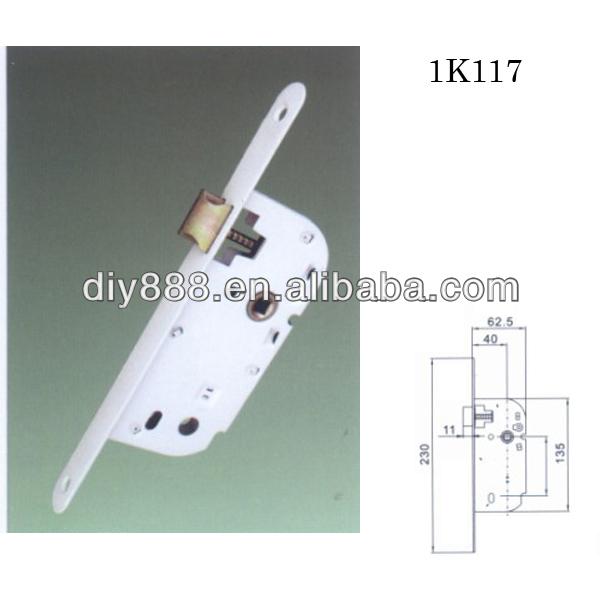 Good quality zamak mortise door locks without deadbolt for Best quality door hardware
