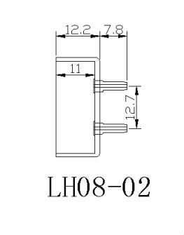 UL94VO custom -made T8 g13 fluorescent lamp holder