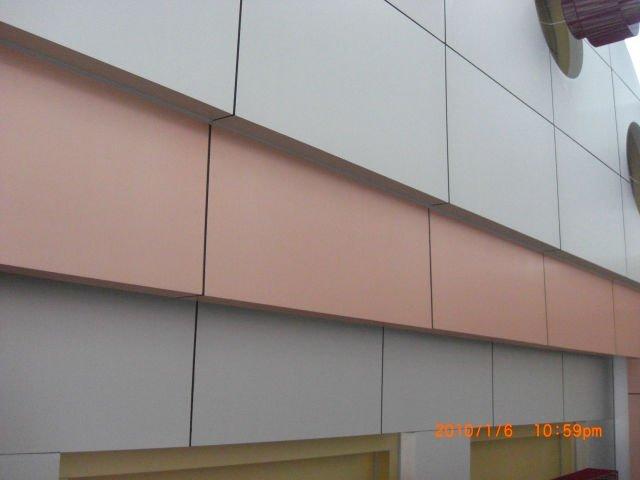 Factory Supply Building Finish Materials Interior Exterior Wall Cladding Aluminium Composite