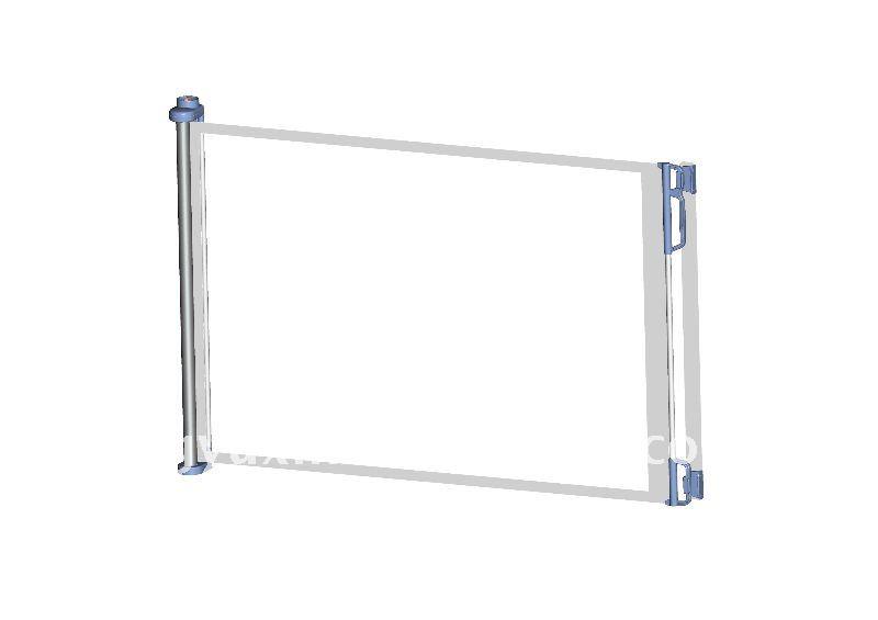 Industrial Retractable Gates : Retractable safety gate item no buy