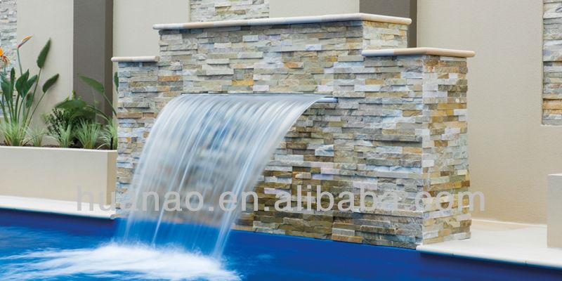 swimming pool fountain and waterfall fountainpvc waterblade - Waterfall Fountain
