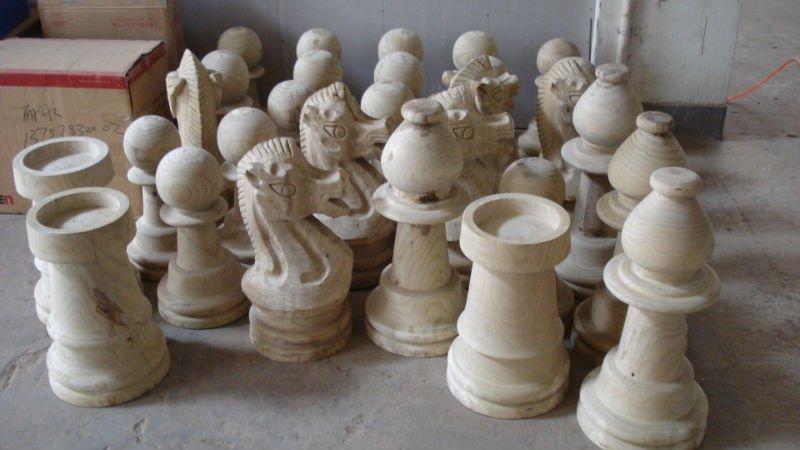 Captivating Outdoor Giant Garden Chess Toy Set/big Chess Set /wooden Garden Chess /plastic