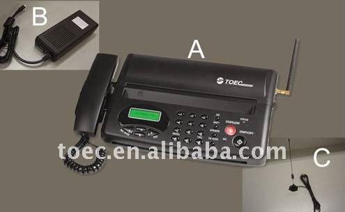 portable wireless fax machine