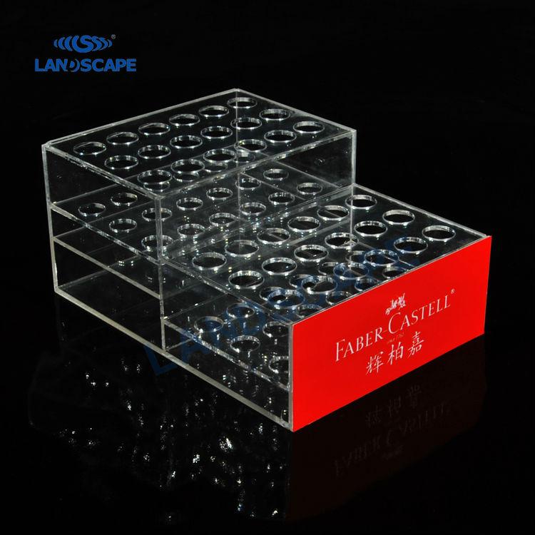 Acrylic Boxes Custom Made : Custom made acrylic golf balls display case plexiglass
