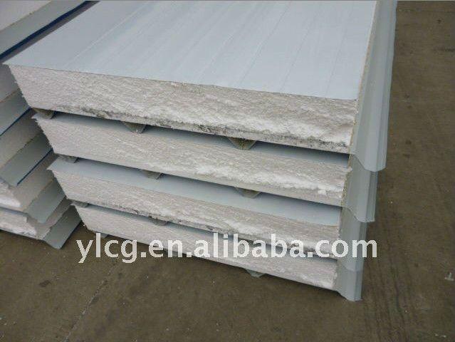 Sandwich Roof Construction : Aluminum steel framing roof sandwich panel factory