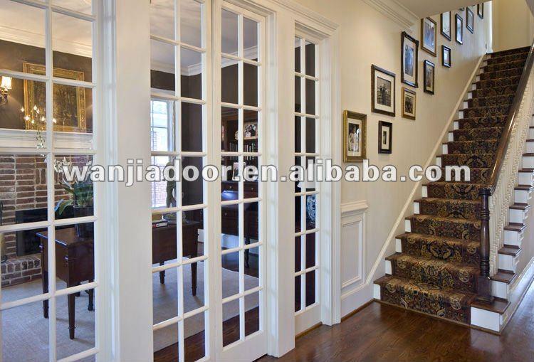 Plain Interior Sliding French Doors For Modern Internal M With Design
