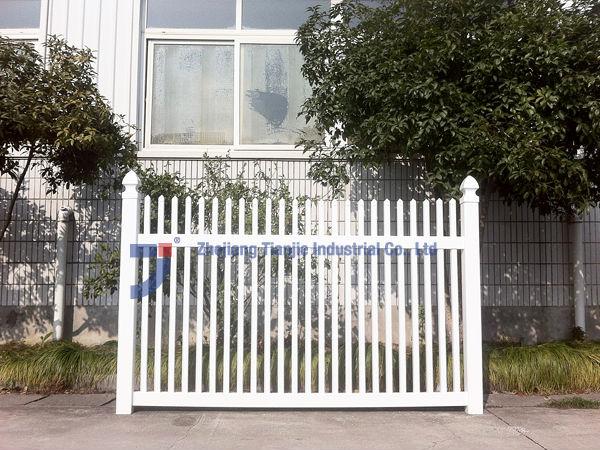 Decorative pvc picket fence screwless design buy