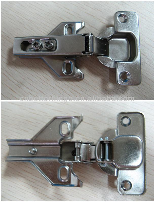 Adjustable two way cabinet door hinge for cupboard inset ...