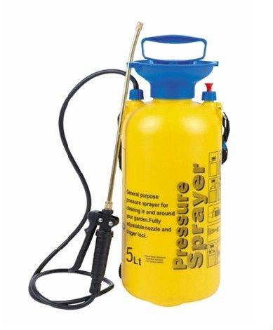 made in taizhou5 liter pressure sprayer5L hand pressure plastic