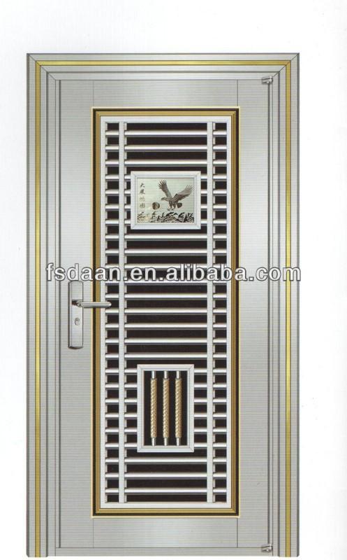 New design stainless steel security grill door buy for Ss door design