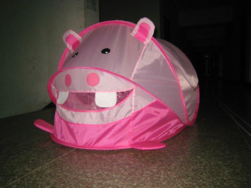 Pink Hippo Pop Up Baby Tent Buy Pop Up Play Tent Kids