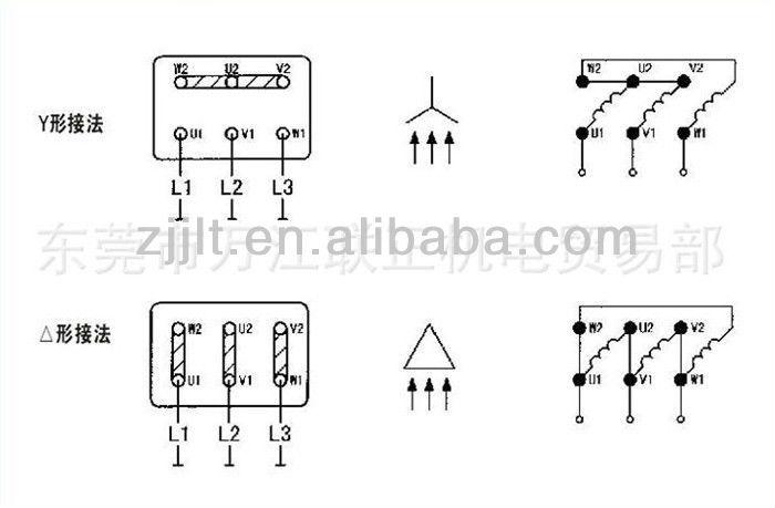 Y Motor Y112m-4-4kw 5.5hp Ac Electrical Induction Motor ...