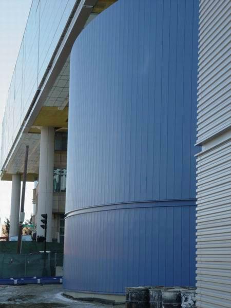 Hwarrior Exterior Facade Easy To Install Invisible Aluminium Curtain Wall Buy Curtain Wall