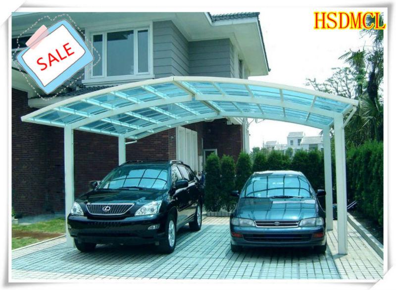 China acero estructura garajes cocheras con techo de - Garajes de metal ...