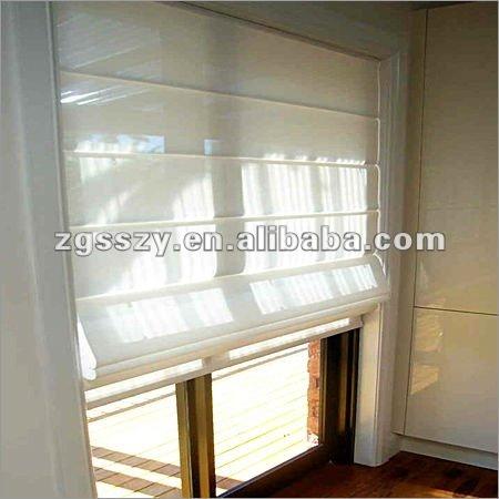 Manual Motorized Fabric Blackout Roman Blind Curtain Design View Roman Blind Curtain Design