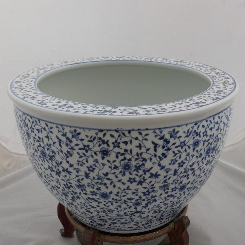 Blue And White Ceramic Flower Pot Wryhc04 Buy Flower Pot