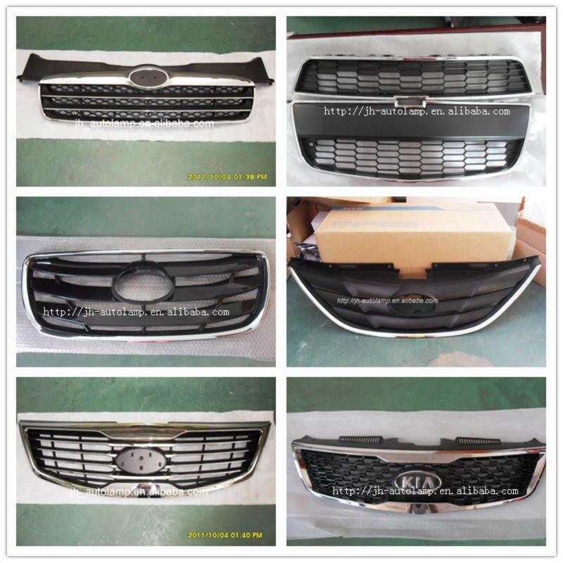 korean car accessories car front chrome grille of accent sonata elantra santa fe sportage
