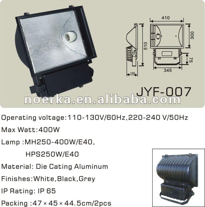 250w 400w Metal Halide Lamp Reflector E40 Ip65 Black Buy