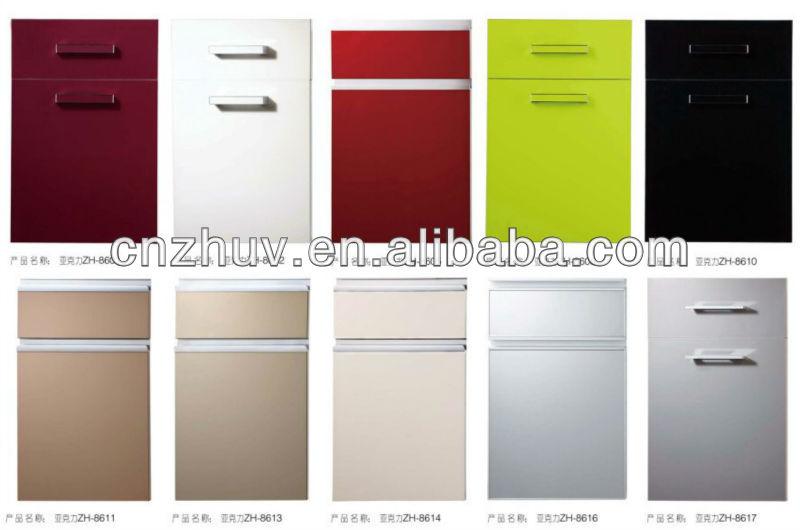 Delicieux Modern Cupboard Door PVC Vinyl Kitchen Cabinet Door