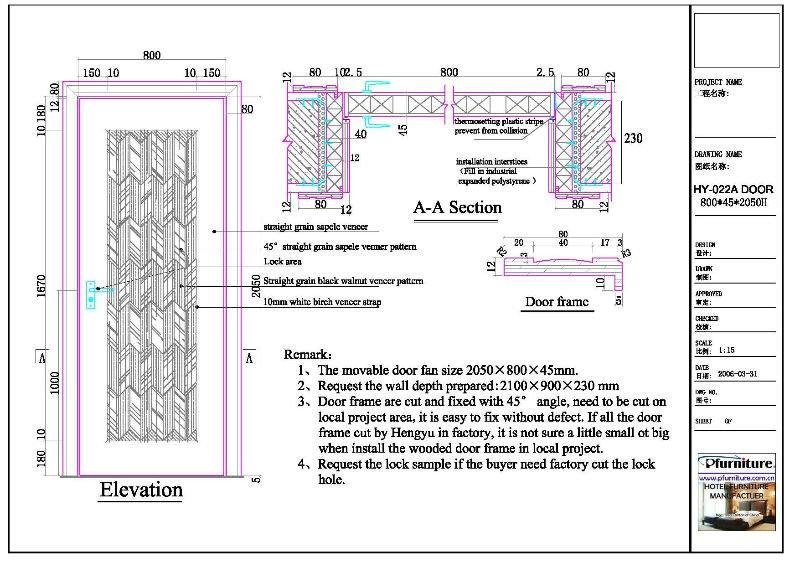 Wood Door Details : Hot sale hy composite wood door buy
