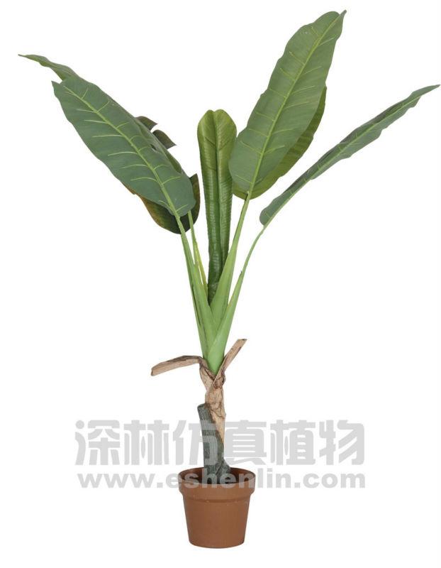 face pot banana plants,real touch banana leaf plants,plastic ...