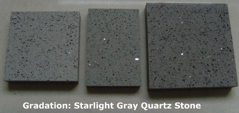 Elegant Stella Gray Sparkle Quartz Countertop Quartz