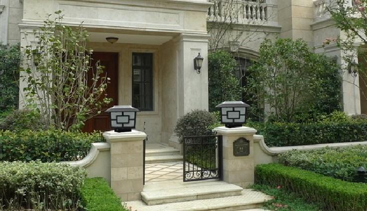 Outdoor Solar Pillar Light Garden Gate Pillar Lighting(JR 3018 Series)